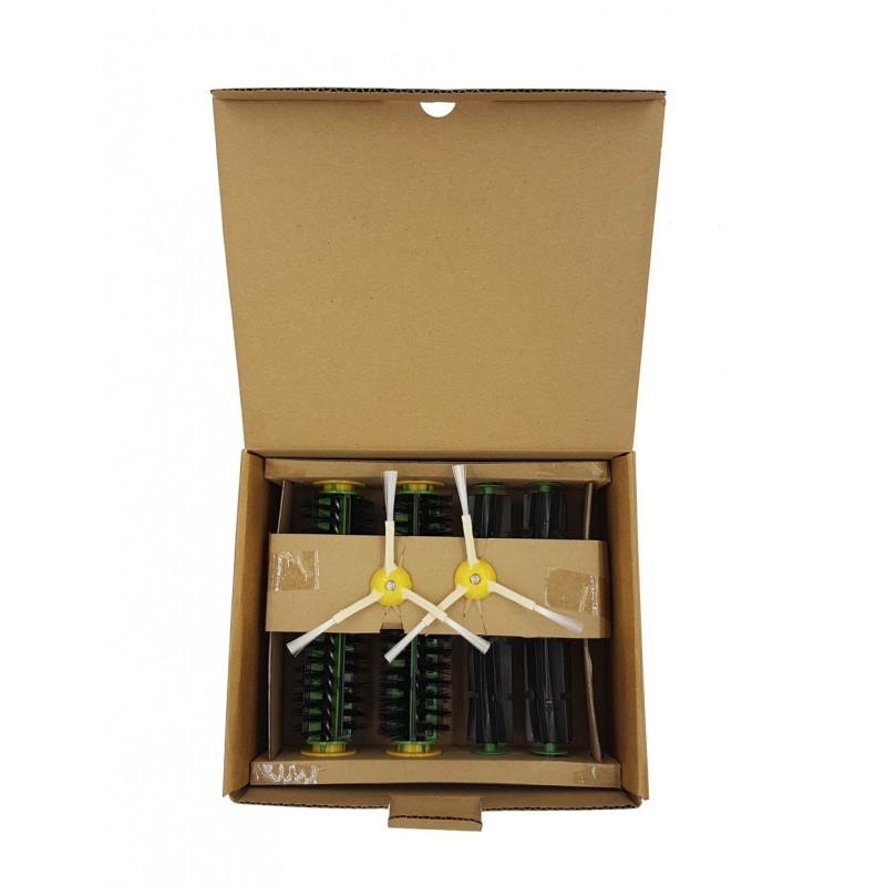 Original: Kit de cepillos verdes Roomba serie 500-1
