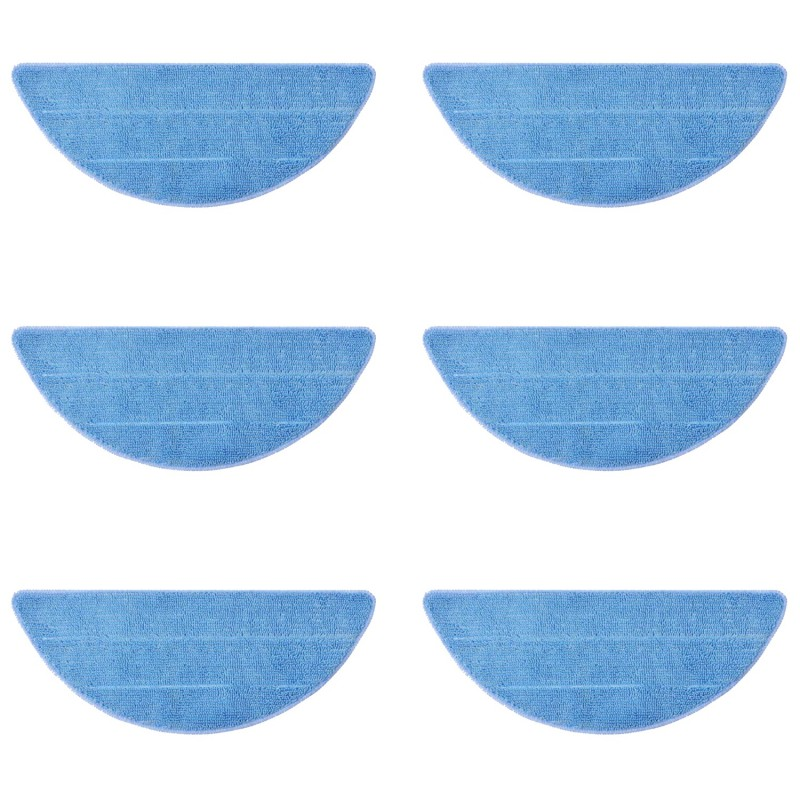 Pack Recambios Conga - 6 Mopas de Microfibra