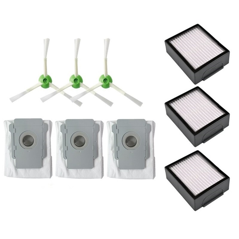 Pack 6 recambios compatibles Roomba Serie i