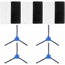 Pack Esencial para Conga 1090 - 4 cepillos y 3 filtros