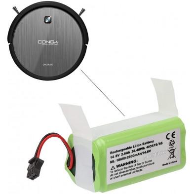 Batería compatible para Conga 990 Excellence 14,8V 2600mah Li-Ion
