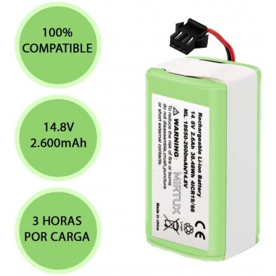 Batería compatible de litio para Conga 950 y Conga 990