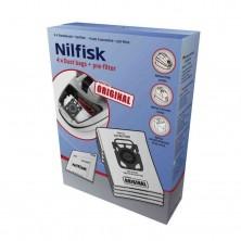 Bolsas originales para aspiradoras Nilfisk Elite, King y Extreme