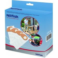 Bolsas originales para aspiradoras de bricolaje Nilfisk Buddy II