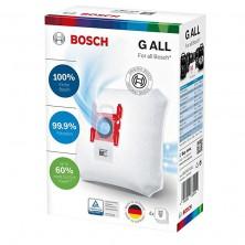 Conjunto de 4 bolsas original para aspiradoras Tipo G ALL Bosch
