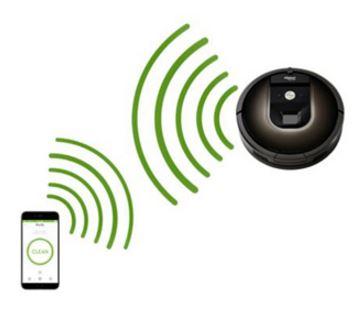 Configuración Wi-Fi robots Roomba