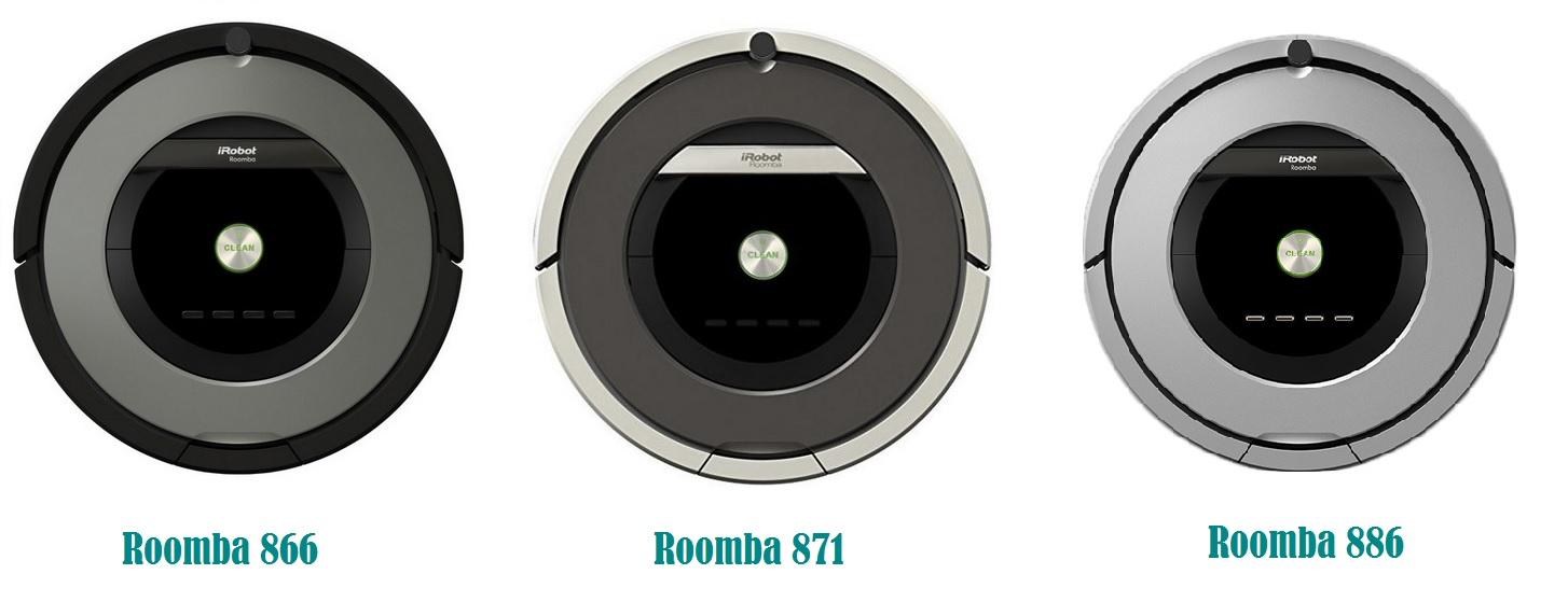 Comparativa entre Roomba 866, 871 y 886