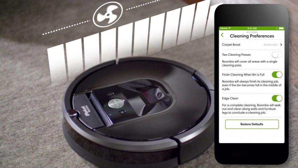 iRobot home app para resolver error 5 de Roomba